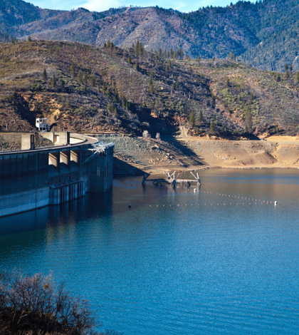 Lake Shasta Reservoirs