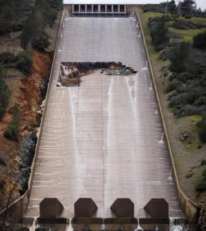 Dept  of Water Resources updates repair status at Oroville